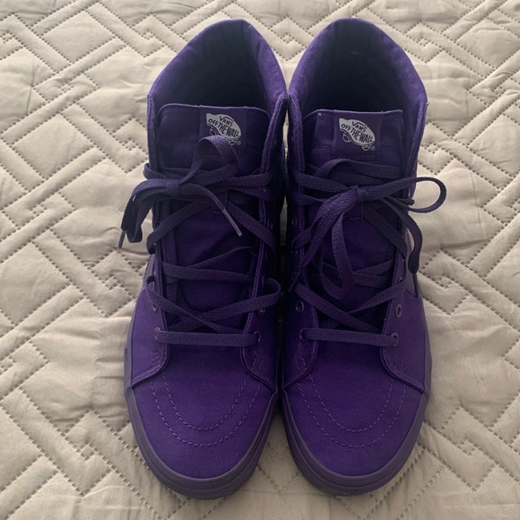Men's Vans Sk8-Hi Purple- Size 12